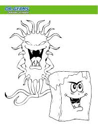 Hand Washing Coloring Sheet - germ coloring pages for kids eliolera com