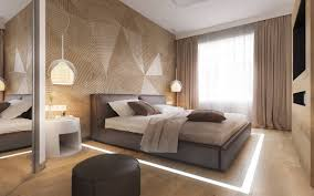 bedroom designs which use slats for accent wall decor ideas