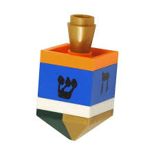 lego dreidel by brick shtick