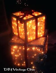 Ribbon Lights Outdoor Ribbon Lights Outdoor Make A Box Frame With Scrap Or