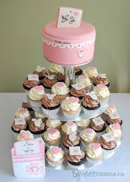 cupcakes for baby shower girl sweetthings baby shower cupcake tower