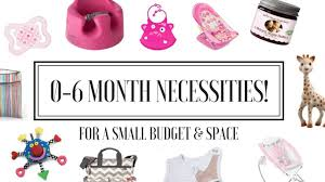 baby necessities 0 6 month baby necessities small budget space registry