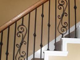 wrought iron stair railings suppliers unique shaped decoration fence
