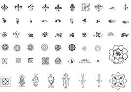 12 vintage vector flourishes and ornaments images free vector