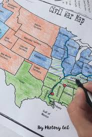 Election Of 1860 Map by North And South Map American Civil War Pinterest Civil Wars