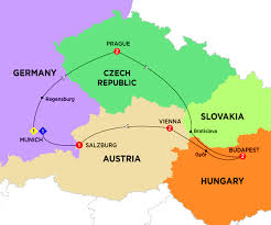 Map Of Germany And Austria by Germany Costsaver Home Usa Destination Guides Europe