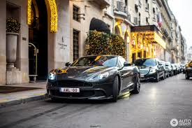 aston martin officially launched in aston martin vanquish s 2017 3 december 2017 autogespot