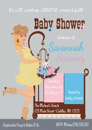 baby shower cowboy cowgirl and cowboy twin babies baby shower invitations