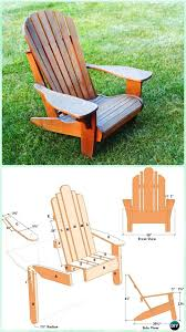 Homemade Adirondack Chair Plans Diy Adirondack Chair Free Plans Instructions