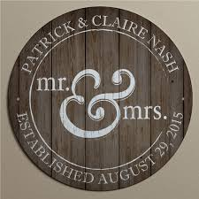 mr u0026 mrs personalized metal sign for the couple wedding
