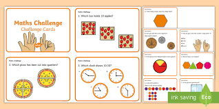 year 1 maths challenge cards challenge cards cards year 1