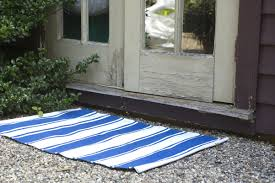 Zen Area Rugs Fab Habitat Zen Lucky Woven Cotton Blue White Area Rug