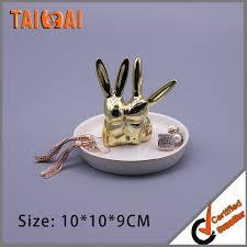 metal rabbit ring holder images Ceramic ring dish ceramic ring dish suppliers and manufacturers jpg