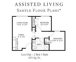 Sample Home Floor Plans Senior Home Floor Plans Home Plans