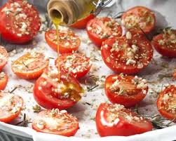 cuisiner des tomates cerises recette tomates cerise confites à l huile d olive ail et thym