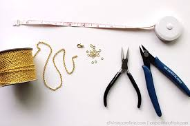diy chains bracelet images Diy jewelry how to make a hand chain jpg