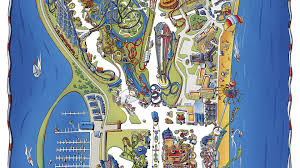 Cedar Fair Parks Map Cedar Point Thrillz The Ultimate Theme Park Review Site