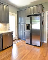 Laminate Flooring In A Kitchen Before And After Katie U0027s Simple Kitchen Refresh The