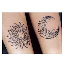 an ideal henna design for best or the sun