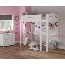 Bunk Bed Argos Buy Collection Heavy Duty Bunk Bed Frame White And Pine At Argos