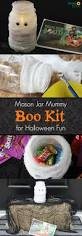 Mason Jar Halloween Halloween Mason Jar Craft Boo Kit