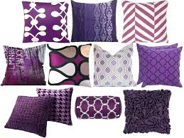 Eggplant Decorative Pillows Best Purple Accent Pillows And