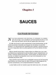 les fonds de cuisine le guide culinaire 4e édition by auguste escoffier philéas gilbert