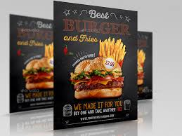 burger restaurant flyer template vol 6 by owpictures graphicriver