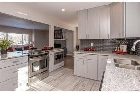 white kitchen cabinets and grey countertops grey shaker cabinet gallery custom kitchen cabinets