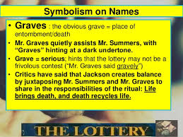 themes in the story the lottery the lottery by shirley jackson