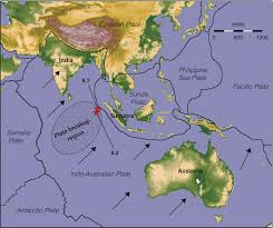 Plate Tectonics Map Sumatra Quake Was Part Of Crustal Plate Breakup Study Shows Huge