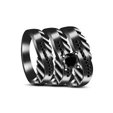 Black Diamond Wedding Ring Sets by 71 Best Wedding Rings Images On Pinterest Jewelry Bridal Rings