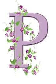 letter p floral initial free stock photo public domain pictures