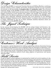 jigmil type b catalog 1950s