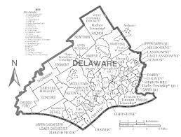 Pennsylvania Map Cities by Pennsylvania U0027s Delaware County A Tale Of Balkanized Suburbs Citylab