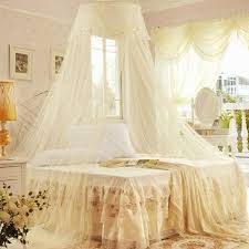Lace Bed Canopy New Round Lace Curtain Dome Bed Canopy Netting Princess Mosquito
