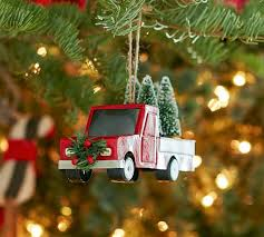 truck ornament pottery barn