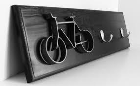 key hook rack metal bike art sculpture bike wall hanging