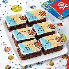 jake neverland pirates treasure brownies