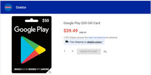 purchase play gift card costco saves you money on the purchase of a 100 play code