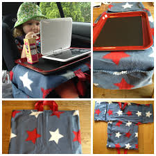 Kids Lap Desk For Car by Diy Tray Table For Car Seat Baking Tray Painted With Blackboard
