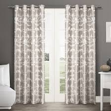 Home Classics Blackout Curtain Panel by Amazon Com Exclusive Home Lovebirds Grommet Top Window Curtain
