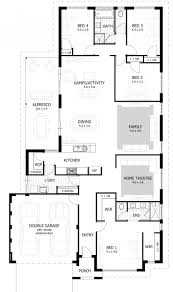 one level house plans with porch 4 bedroom indian house plans this 1story coastal contemporary plan