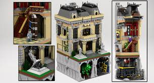 lego ideas assault on wayne manor