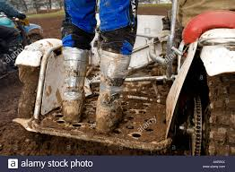 motocross bike boots duct taped boots sidecar dirt bike motocross racer race passenger