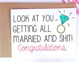 congratulations on wedding card getting married card etsy