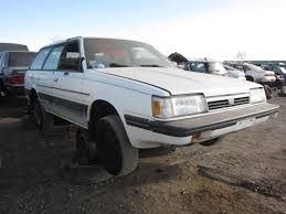 subaru station wagon 1980 junkyard find 1987 subaru gl wagon the truth about cars