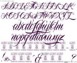 attractive calligraphy fonts az 4 9953 graffiti letters a z