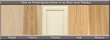 Types Of Kitchen Cabinet Doors Wood Species For Kitchen Cabinets Www Redglobalmx Org