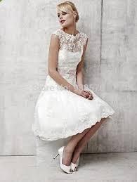 civil wedding dresses hot sealing suzhou neck sleeve civil white wedding dress